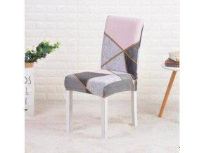 Elastické moderní potahy na židle