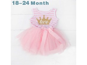 Toddler Girls Summer Christening Gown Baby Girl 2nd Party Frocks Baptism Birthday Dress For Baby 2 as photo (6)