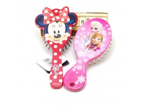 Disney 1pcs Cartoon Magic Detangling Handle Shower Anti Static Hair Brush Comb Salon Styling Tamer Tool 1