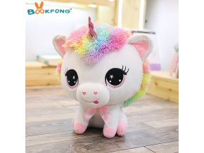 35cm Cute Unicorn Plush Toy Rainbow Horse Sutffed Animal Plush Dolls Children Baby Birthday Christmas Gifts 1