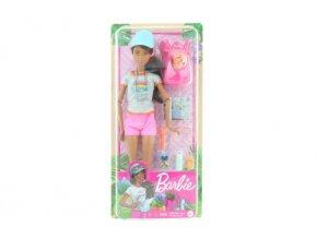 Barbie Wellness panenka turistka GRN66