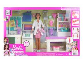 Barbie Klinika 1. pomoci s doktorkou herní set GTN61 TV