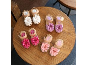 2018 Summer Girls Shoes PU Leather Kids Baby Girls Sandals Shoes princess Skidproof Toddlers Infant Children 1