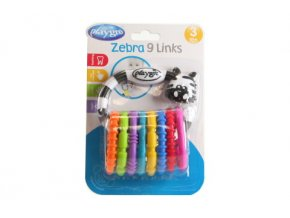 Playgro - Zebra s kroužky