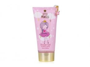 Gel sprchový/koupelový 60ml s korunkou - Little princess