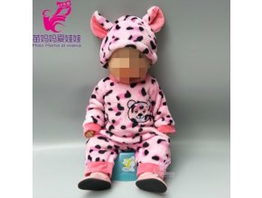 doll clothes for 43cm baby new born doll coat unicorn hoodie 17 inch 18 inch baby A8