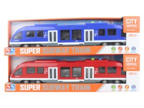 Vlak - metro na baterie