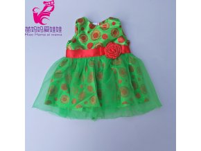 Doll clothes baby new born 10 style fit 43cm 18 inch girl boy doll straw hat Q 213