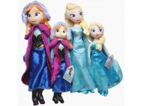 """Disney plyšové postavičky Anny a Elsy z """"Ledového království"""" (2 ks)"""