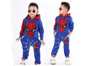 2018 Spiderman Baby Boys Clothing sets Sport suit Christmas boys Clothes Autumn winter spider man clothes 1