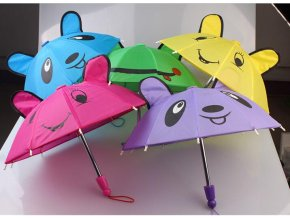 1pcs Umbrella Rain Coat Doll Clothes for18inch American Dolls Zapf Baby Born Dolls Accessories 2