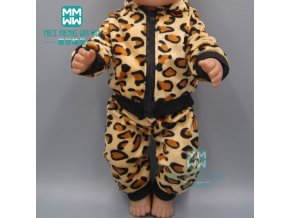 15 Style doll Clothes for 43cm new born doll accessories Casual jacket set baby jumpsuit 3