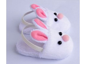 New Arrival Cute Withe Felt Slippers For 17inch Zapf Baby Born Dolls 43cm Doll Accessories 1