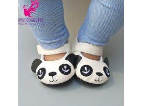 Balerínky s pandou pro American girl a Baby Born 43-45 cm