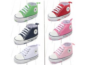 New Canvas Classic Sports Sneakers Newborn Baby Boys Girls First Walkers Shoes Infant Toddler Soft Sole 1