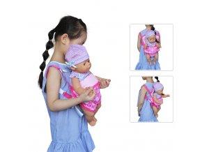 Nosítko pro panenky American girl a Baby Born 40-45 cm