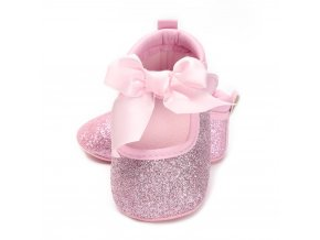 New Born Baby Girl Shoes Princess Polka Dots With Flowers Soft Cotton Toddler Crib Infant Little WS D 0069P