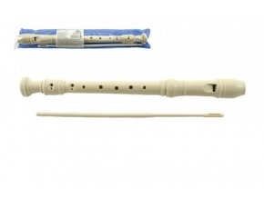 Flétna plast 30cm s čistítkem v plastovém obalu