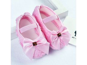 Baby Girl Shoes Toddler Newborn Bow First Walkers Princess Baby Soft Sole Anti Slip Sapatinhos Para Pink
