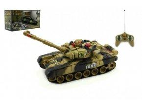 Tank RC T-80 plast 25cm s dobíjecím packem USB+adaptér na baterie 2 druhy  2,4 GHz v krabici