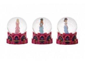 Sněhová koule/Těžítko princezna 7cm 3 druhy v krabičce 11x13x11cm