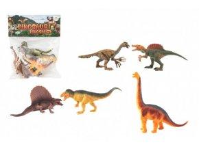 Dinosaurus plast 16-18cm 5ks v sáčku