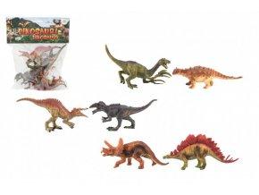 Dinosaurus plast 15-16cm 6ks v sáčku