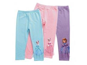 2019 Children Girls Leggings Summer Calf Length Pants Cartoon 3D Anna Elsa Girls Pants Children Trousers 1