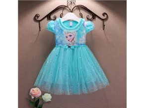 Lace High Quality Girl Dresses Princess Children Clothing Anna Elsa Cosplay Costume Kid s Party Dress 1