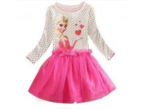 Kids 2 7years New Girls Dresses Vestidos Elsa Dress Kids Snow Queen Children Clothing Summer Girl D1