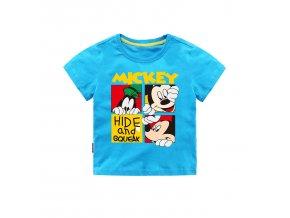 Jargazol Toddler Baby Girl Boy T Shirt Vetement Enfant Fille Cartoon Mickey Printed Short Sleeve Camisetas QM1409 1