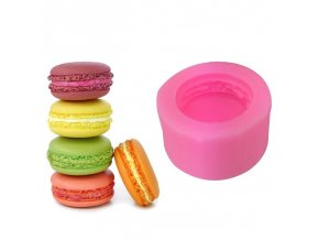 3D Stereo Macaron Style Silicone Mold DIY Handmade Soap Candle Mold Fondant Cake Chocolate Decorating Silicone 1
