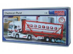 Stavebnice Monti System MS 60 Chemical Fluid Actros L-MB 1:48 v krabici 31,5x16,5x7,5cm