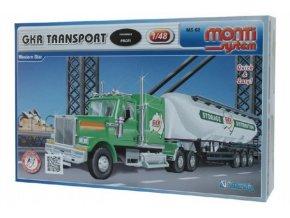 Stavebnice Monti System MS 68 GKR Transport Western star 1:48 v krabici 32x20,5x7,5cm