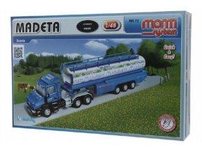Stavebnice Monti System MS 72 MADETA Scania 1:48 v krabici 32x20,5x7,5cm