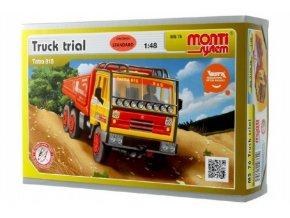 Stavebnice Monti System MS 76 Truck Trial Tatra 815 1:48 v krabici 22x15x6cm
