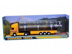 Stavebnice Monti System MS 55.1 Souvenir Truck 32cm sběratelský model+ skleněná lahev v krabičce