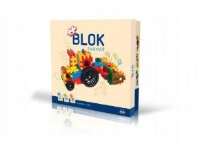 Stavebnice BLOK Farmář plast 172ks v krabici 35x33x8cm