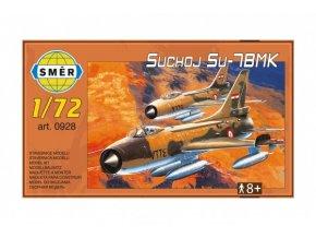 Model Suchoj Su-7 BMK 23x13cm v krabici 25x14x4,5cm