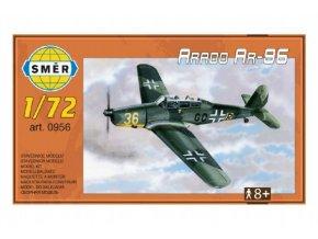 Model Arado AR-96 1:72 15,2x1,18 cm v krabici 25x14,5x4,5cm