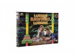 Tajemství elektroniky 500 experimentů na baterie v krabici 42x28,5x4cm od 6 let