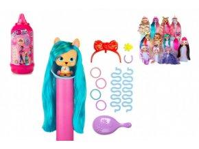 I love VIP Pets figurka s dlouhými vlasy plast s doplňky 6 barev v plast. lahvi 10x26x10cm 9ks v box