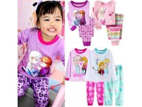 New Girls Pajamas Kids Princess Anna Elsa Sleepwear Children Cartoon Clothing Set Baby Long Sleeve Pijamas.jpg Q90.jpg