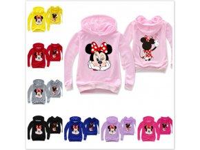 """Dětská mikina s kapucí """"Minnie Mouse"""""""