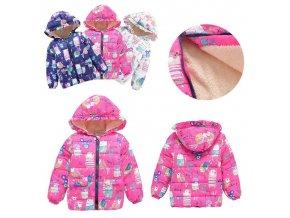 Dětská veselá zimní bunda