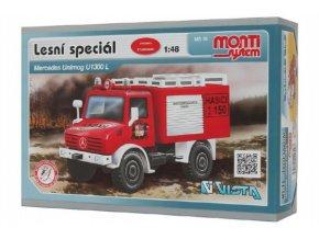Stavebnice Monti System MS 16 Lesní speciál 1:48 v krabici 22x15x6cm