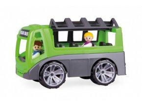 Autobus Truxx s figurkami plast 28cm v krabici 39x16x22cm 24m+