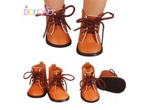 Retro boty na panenky Baby Born 43 cm