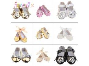 Sandálky a balerínky na panenky Baby Born 43 cm