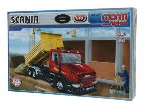 Stavebnice Monti System MS 62.1 Scania  1:48 v krabici 32x20,5x7,5cm